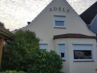 Haus Adele - top renoviertes Haus in ruhiger Lage, 700m zum Hafen und Strand