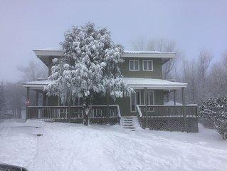 Ski Slope in Backyard!  Ski In/Ski Out Beautiful Beech Mountain Home!