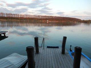 Erholung pur am Hainer See bei Leipzig