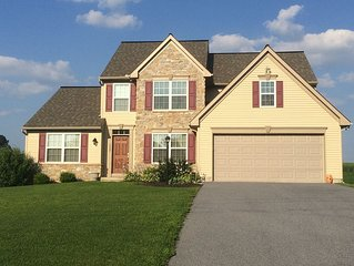 New Comfortable Home Between Lancaster-Strasburg