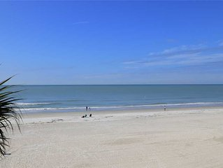 Direct Beach & Gulf Views from this large Upgraded Corner Unit - Quiet Indian S