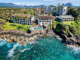 Poipu Shores - 1BR Oceanfront Suite #203B