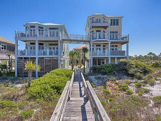 High-end beach house,pet friendly, hot tub,7 bedrooms,oceanfront, pool table!