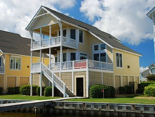 Sound front Manteo Home in Pirates Cove Community. Community Pool, family activi