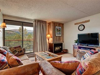 Great location, ski-in, close to Main Street, stunning views, & hot tubs!
