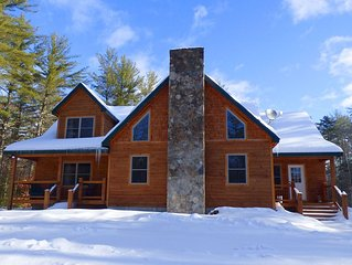 Sunday River Deer View Ski Chalet with Hot Tub - New Construction!