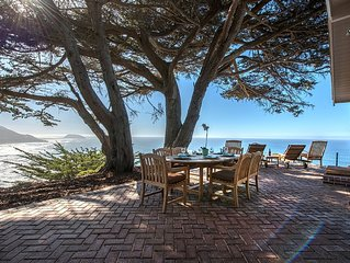 3670 Cliff House - Sweeping Mountain & Ocean Views! Private! Whale Watching!