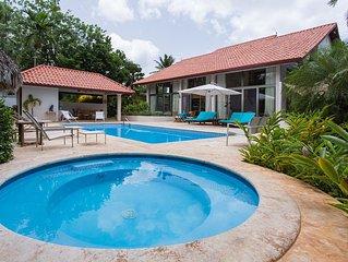 5* Hotel service in a private dream villa !