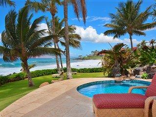OCEAN BLISS * Beachfront Private Home *
