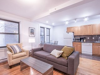 Bold 1BR in Theater District