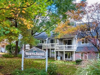 Lovely Condo Located Within Chautauqua Institution, With Lake Views.