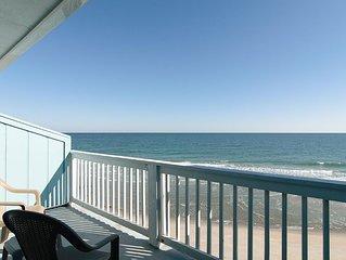 Top floor oceanfront condo with expansive coastline views