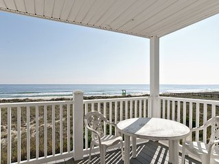 Walk to the boardwalk from your oceanfront condo with private beach access