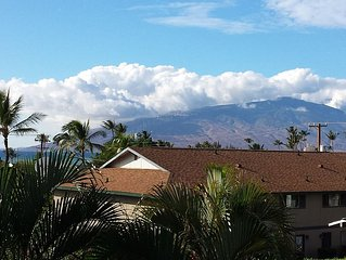 West Maui Mountain and Ocean Views -- Beautiful Beaches Just Steps Away!