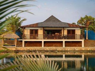 Waterfront Villa Great Location!