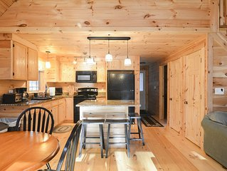 Family Friendly Rustic Newly Renovated Cabin Abutting The White Lake State Park.