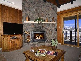 Large Slopeside Condo w/ Balcony, Mountain Views, Recent Updates, Sauna