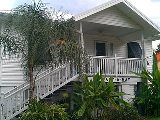 Charming Historic Beach Cottage just steps away from beautiful white sand beach.