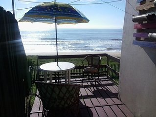 Frente para o mar em Barra Velha - 2 quartos