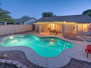 Beautiful Home in Quiet East Mesa; Pool with Optional Heating; Hikers Welcome