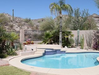 Spectacular Scenic Quiet Backyard-Heated Pool/Spa,XBOX/Pooltable/Wifi