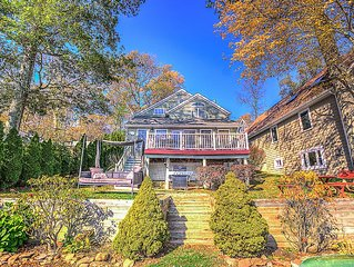 New inside and Out!  Beautiful Lake Front Home