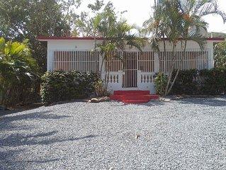 Mariber House on Culebra close to Flamenco Beach
