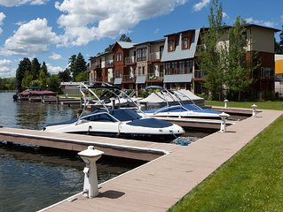Northshore Harbor, Wonderful Townhome in Bigfork Montana