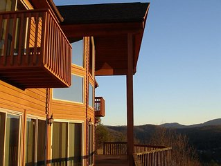 Endless Sunsets In Hendersonville NC  FABULOUS Views Close To Town Golf