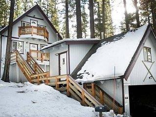Charming Cabin+studio w/hot tub, Walk to Heavenly, Lake & Casinos