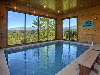 Private Indoor Pool   Theater Room   Mountain Views   Wi-Fi   Handicap Accessibl