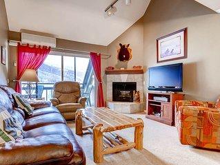 New Listing!  2 bedroom/2 bath Village Loft condo.  Ski In/Ski Out