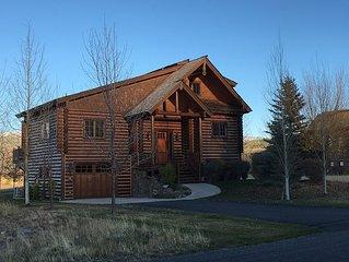 Wonderfully Located Teton Springs 4 Bedroom, 4.5 Bath Luxury Cabin