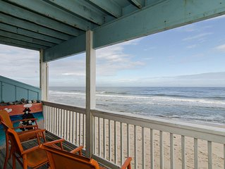 The closest oceanfront condo to the water you will find!!