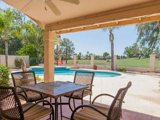Luxury Home on Ocotillo Golf Course, Pool and Stunning Views