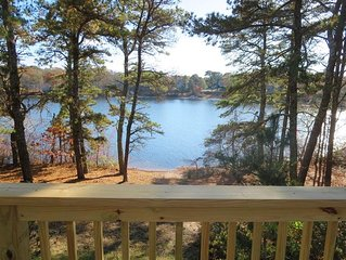 View from the deck - 379 Oak Street Harwich Cape Cod New England Vacation Rentals