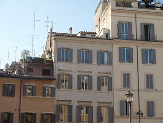 Gorgeous apartment with view and unique terrace on Campo de Fiori (old Rome)