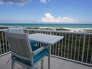 Oceanfront escape! Spectacular ocean views, 2 pools, tennis & elevator!