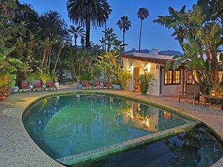 Hacienda de la Mariposa - Authentic Spanish Style in Montecito