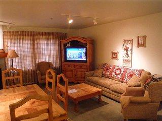 Kintla 306 is deluxe 2-bedroom, 2-bath condo featuring a slope side view