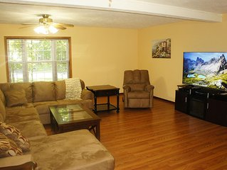 Enormous home featuring large game room, Hot Tub, Sauna and very spacious livin
