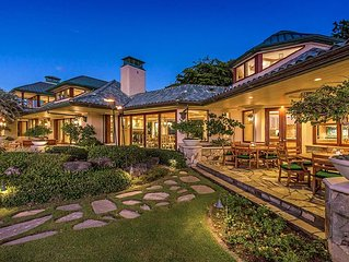Heavenly Oceanfront Villa with Putting Green, Pools & Natural Spa - Halekailani