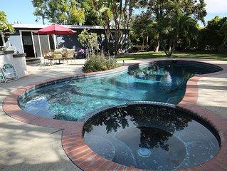 Entertainment home w/swimming pool, 15 min to Disneyland, beaches