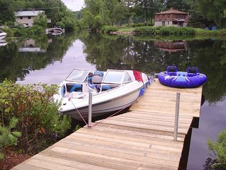 Great for Multiple Families, Beach Access to Sebago Lake, Dock, New Log Home!