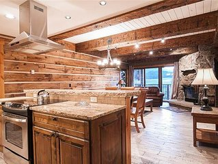 Ski-In/Out Extensively Remodeled Spacious Condo w/ Views, Fireplace, Balcony