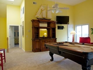Gingerbread House - Pool Table with Old World Bar