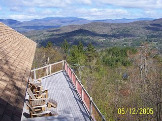 Spacious Mtn Top Contemporary - Spectacular Views - in Waterville Estates