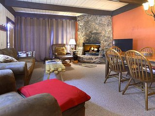 Ski-In/Out Condo, Great for Families, Pet Friendly, Fireplace, Sauna, Updates