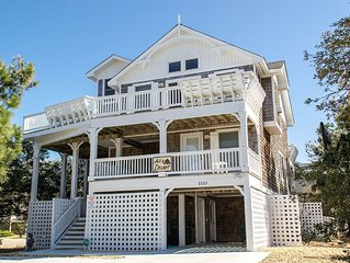 #1100 Ace's Delight. Pool/Hot Tub, PETS OK, Ocean View, Pool Table, Free WiFi