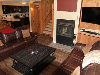 Loon Mountain Luxury 4 Level Townhouse Over 1,700 Sq. Ft.